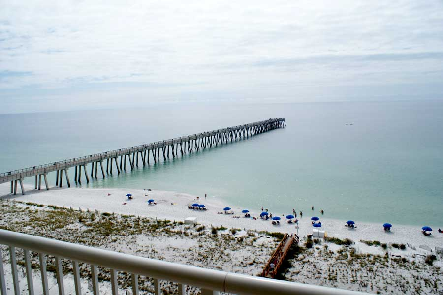 Dolphin watch beach rentals navarre florida 3 bedroom for Navarre fishing pier cam